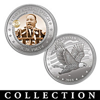 Martin Luther King Jr. Commemorative Proof Coin Collection