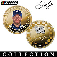 Officially Licensed Dale Earnhardt Jr. Proof Coin Collection