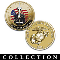 The USMC Golden Proof Coin Collection