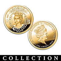 The Kings & Queens Of England Proof Coin Collection