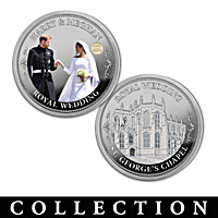 The Prince Harry And Meghan Markle Proof Coin Collection