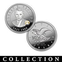 The Robert F. Kennedy Legacy Proof Coin Collection