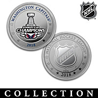 Capitals® 2018 Stanley Cup® Proof Coin Collection