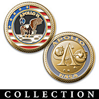 The Apollo Program Challenge Coin Collection