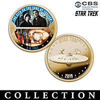 The STAR TREK Episodes Proof Coin Collection