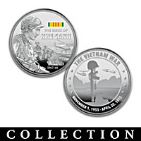 The Vietnam War Battles Proof Coin Collection