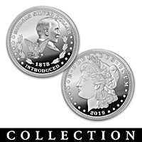 The Morgan Silver Dollar U.S. History Coin Collection