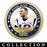 Patriots Super Bowl LIII Champions Dollar Coin Collection