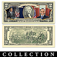 The All-New Obama Legacy $2 Bills Currency Collection