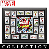 The MARVEL Comics Silver Age Hero Gallery Ingot Collection