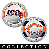 The Chicago Bears 100th Anniversary Proof Coin Collection