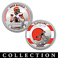 The Cleveland Browns Proof Coin Collection
