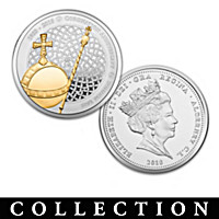 The Queen\'s Sapphire Coronation Jubilee Coin Collection