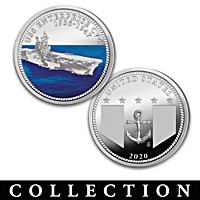 The U.S. Navy Aircraft Carrier Proof Coin Collection