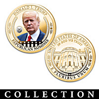 The Donald J. Trump Presidential Legacy Coin Collection