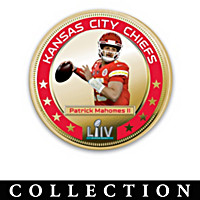 Chiefs Super Bowl LIV Champions Dollar Coin Collection