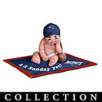 New England Patriots #1 Fan Baby Doll Collection