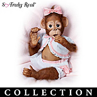 As Cute As Can Be Monkey Doll Collection