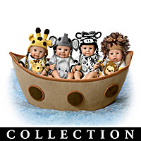 Noah\'s Adorable Ark Baby Doll Collection