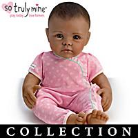 Black Hair, Brown Eyes, Dark Skin Doll & More Collection