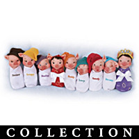 Sow White And The Seven Swines Piglet Doll Collection
