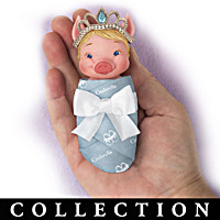 Swaddled Sweeties Princess Piglet Doll Collection