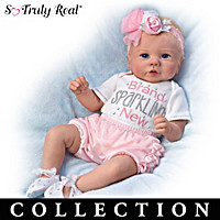 Kaylie's Brand Sparkling New Baby Doll