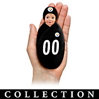 Pittsburgh Steelers Littlest Champions Baby Doll Collection