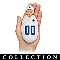 Dallas Cowboys Littlest Champions Baby Doll Collection