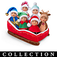 Santa's Li'l Helpers Baby Doll Collection