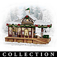 Christmas Train Station Accessory Collection