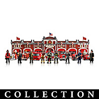 Firefighter\'s Tribute Sculpture Collection