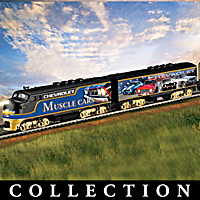 Chevrolet Muscle Car Express Train Collection