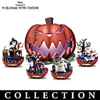 Nightmare Before Christmas Pumpkin King Sculpture Collection