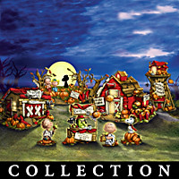 PEANUTS Trick Or Treat Village Collection