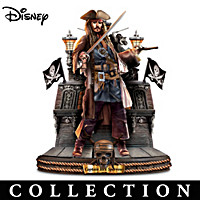 Pirates Of The Caribbean Captains Sculpture Collection