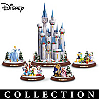 Disney Christmas Magic Sculpture Collection