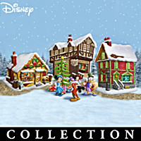 Disney Mickey Mouse\'s Christmas Carol Village Collection