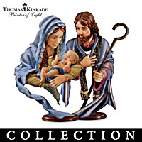 Thomas Kinkade O Holy Night Nativity Collection