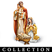 Heaven\'s Golden Blessing Nativity Collection