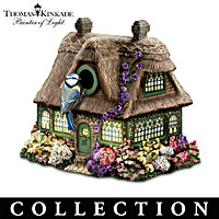 Thomas Kinkade Songbird Village Birdhouse Collection