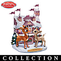 Rudolph\'s Winter Wonderland Sculpture Collection