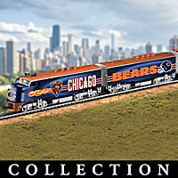 Chicago Bears Express Train Collection
