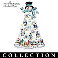 Thomas Kinkade Joy Of The Season Christmas Tree Collection
