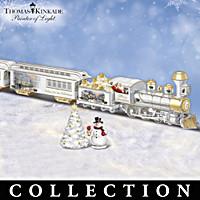 Thomas Kinkade Home For The Holidays Train Collection