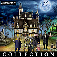 THE ADDAMS FAMILY Halloween Village Collection