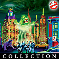 Ghostbusters Blacklight Village Collection
