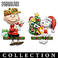 The PEANUTS Christmas Sculpture Collection