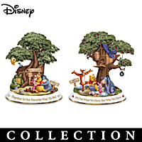 Friendships Of Hundred Acre Wood Sculpture Collection