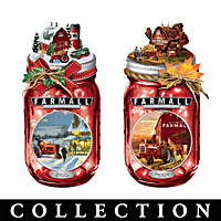 Memories Of The Seasons Mason Jar Collection